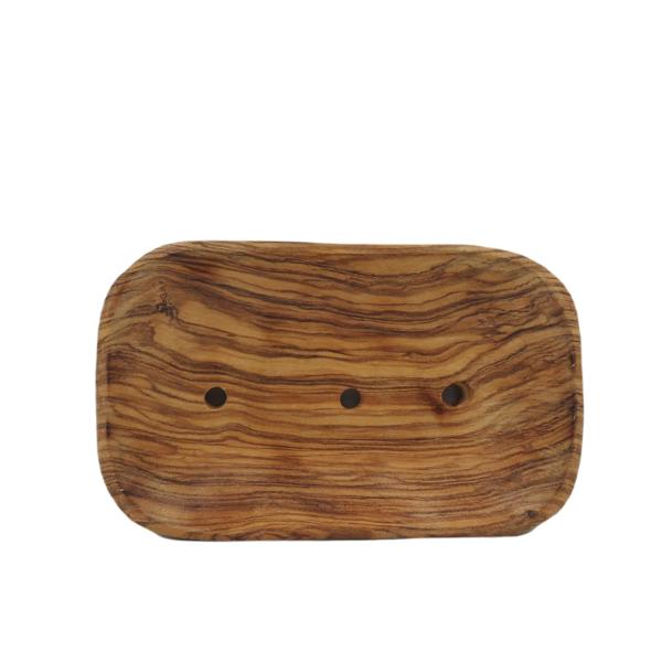 jabonera de madera de olivo