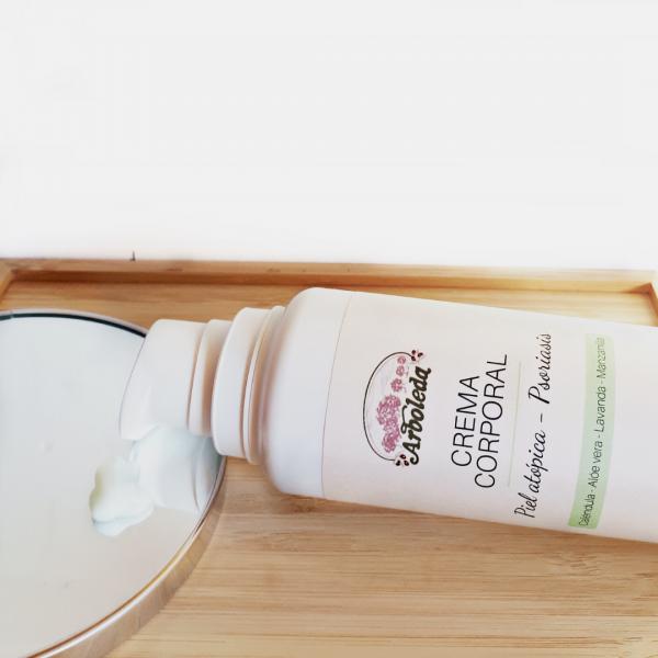 crema corporal piel atópica