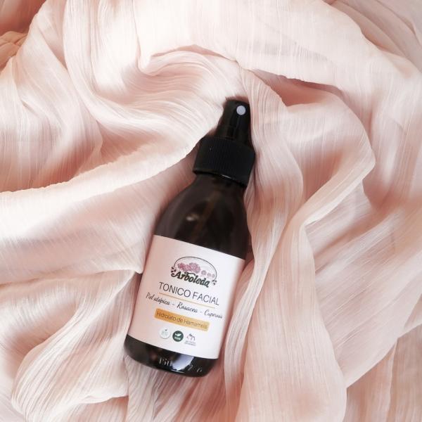 tónico facial rosacea cuperosis